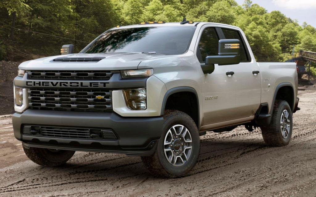Le Chevrolet Silverado HD 2020 sera encore plus fort que le GMC 366045_2020_Chevrolet_Silverado_2500_HD