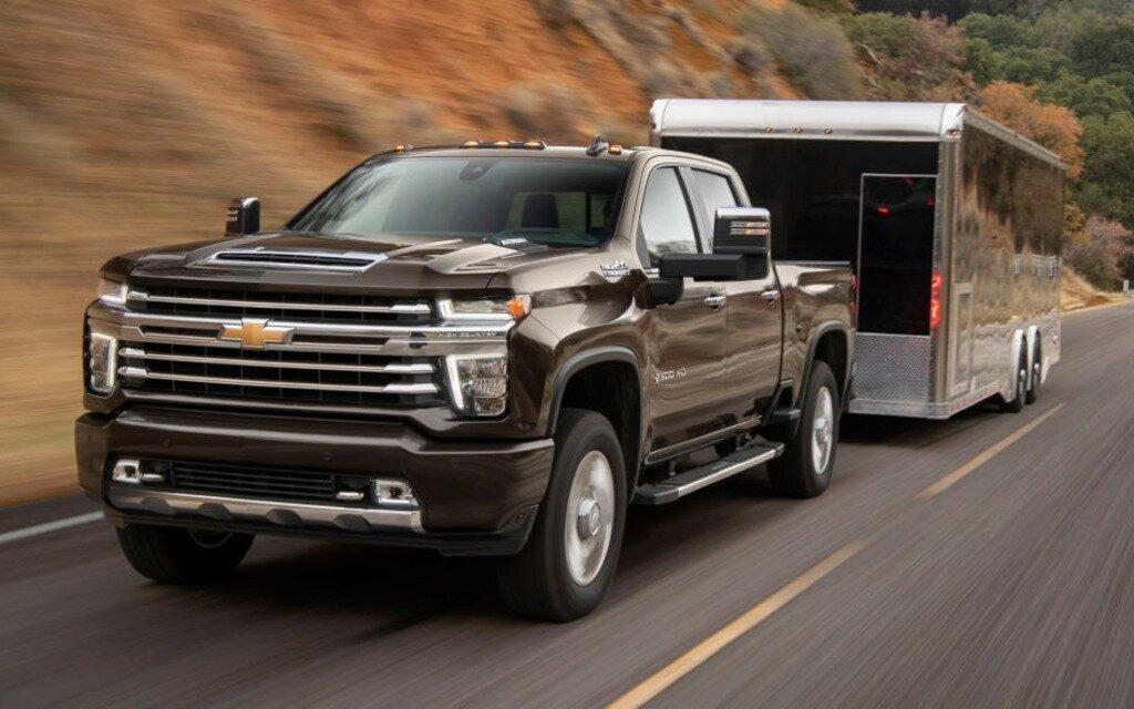 Le Chevrolet Silverado Hd 2020 Sera Encore Plus Fort Que