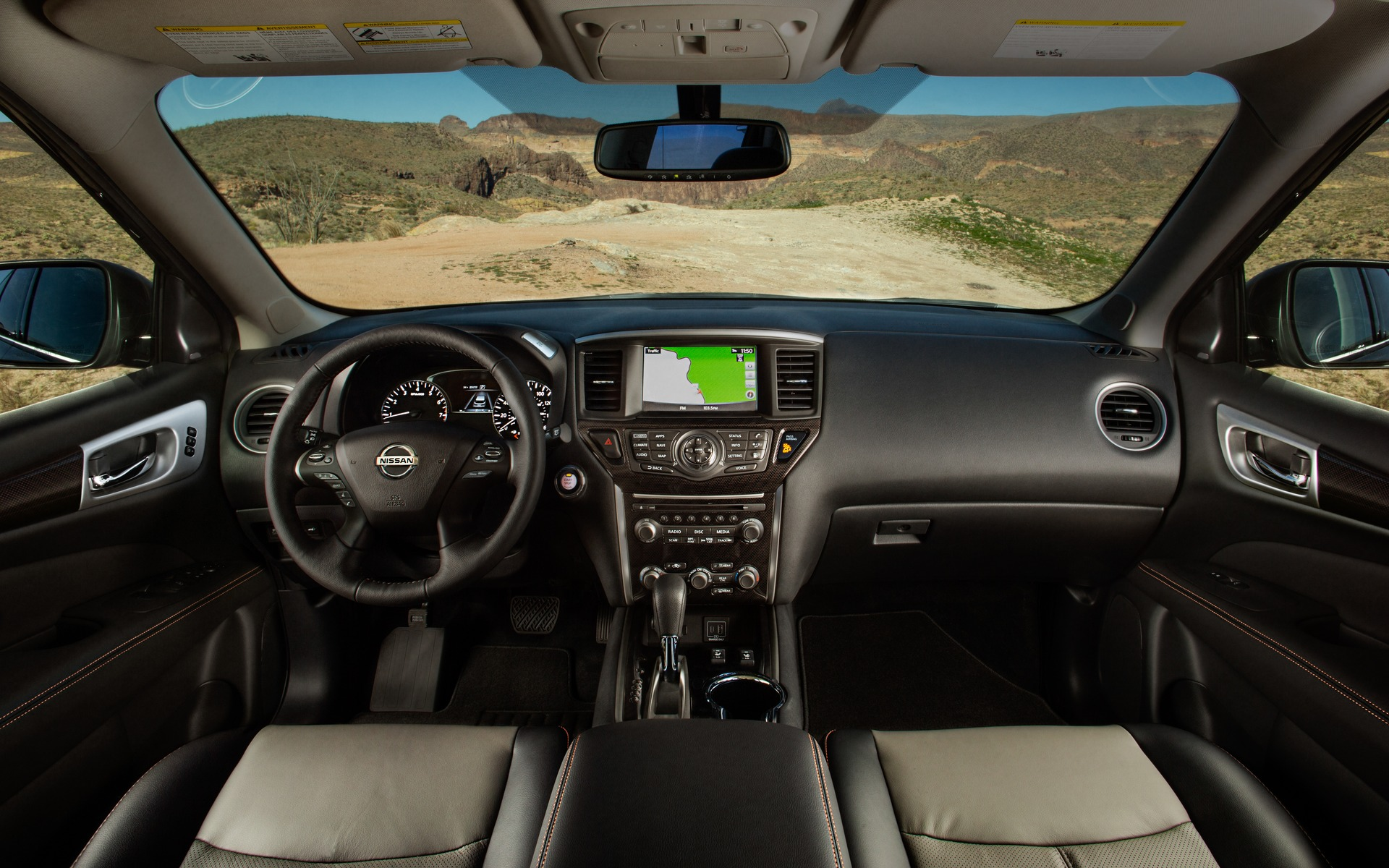 <p>Nissan Pathfinder Rock Creek Edition</p>