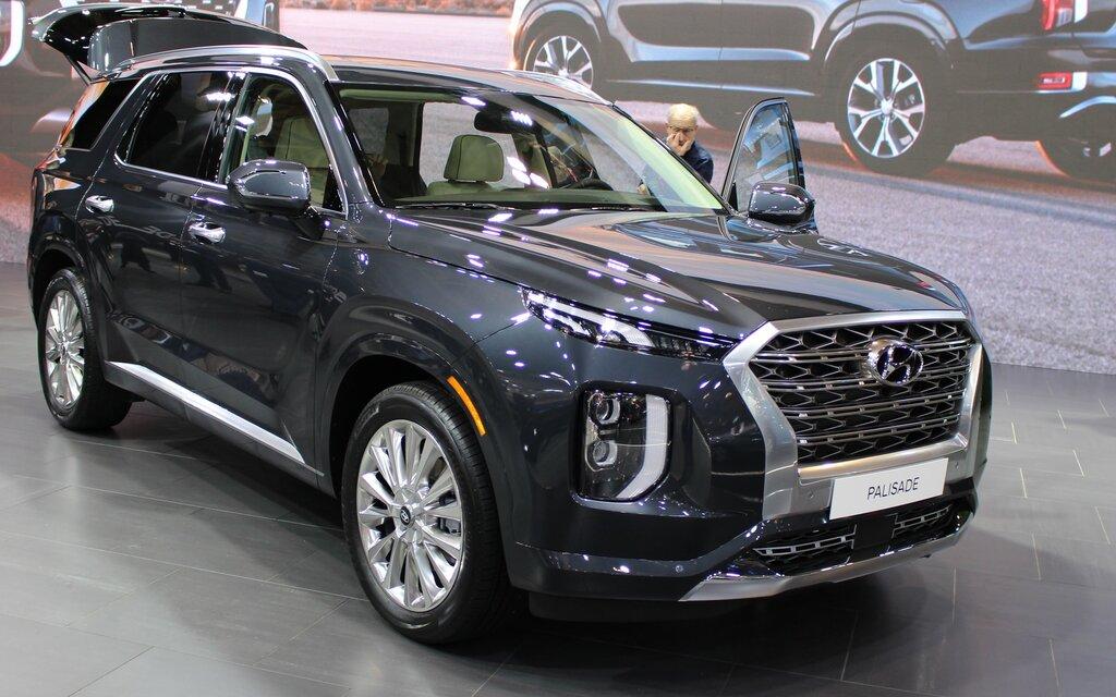 Le Hyundai Palisade 2020 fait ses débuts canadiens à ...