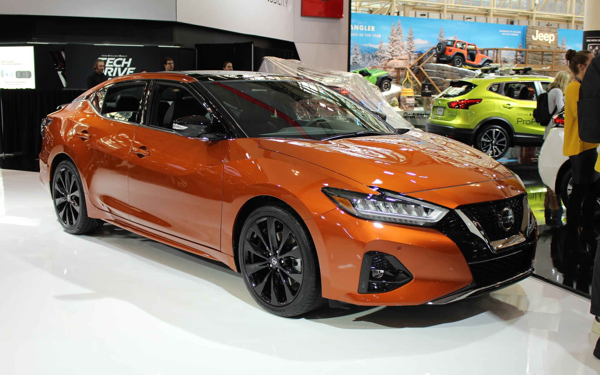 2019 Nissan Maxima And Pathfinder Rock Creek Edition Debut In Toronto The Car Guide