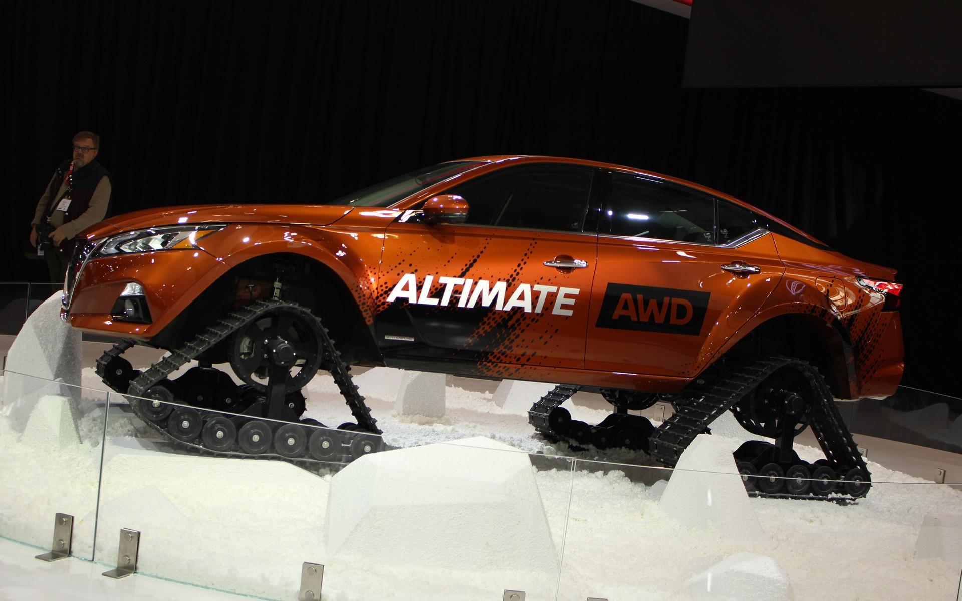 <p>Nissan Altima-te</p>