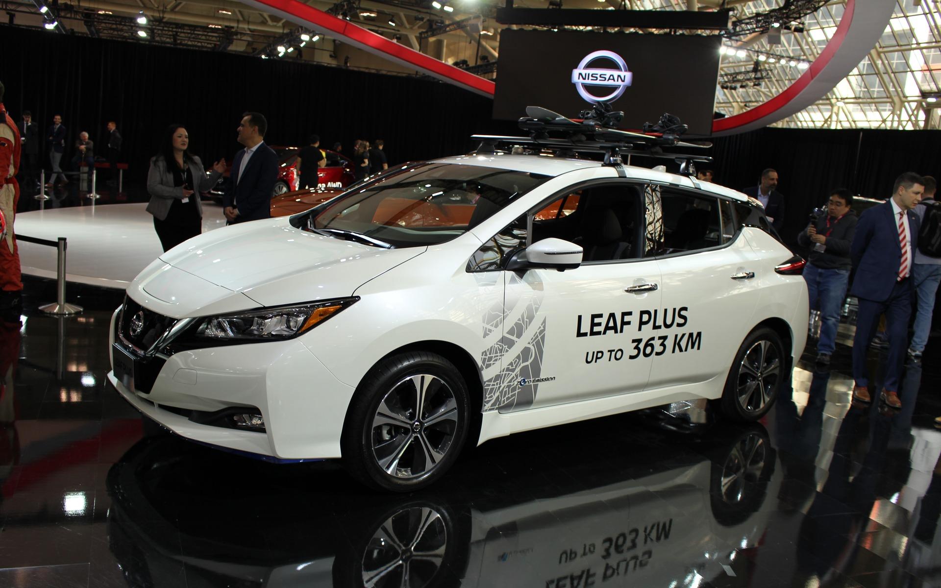 <p>2019 Nissan LEAF Plus </p>