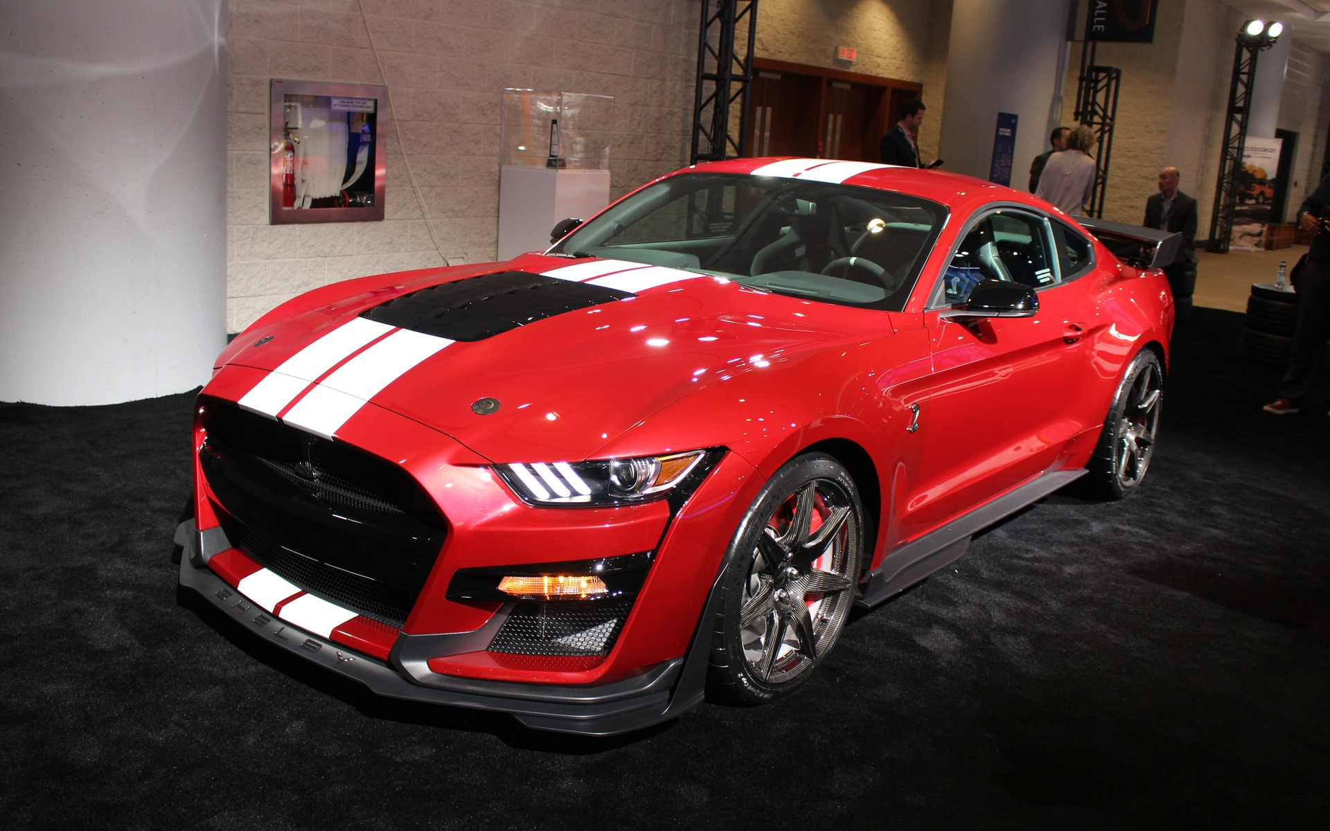 Canadian Premiere Of The 2020 Ford Shelby Gt500 In Toronto