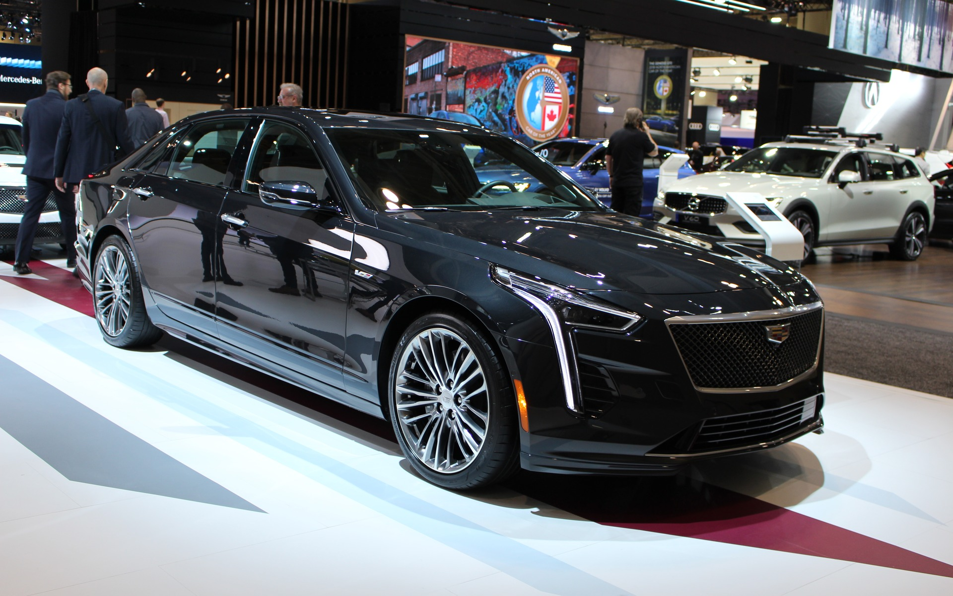 2019 Cadillac Ct6 V And 2020 Cadillac Xt6 Unveiled In Toronto The