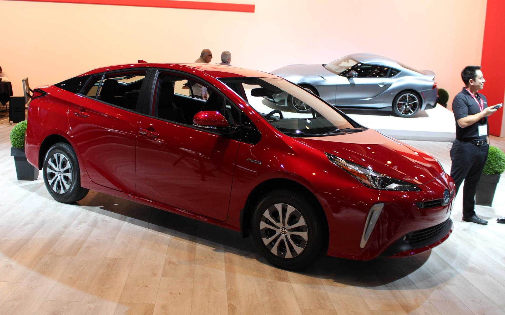 <p>Toyota Prius e-AWD</p>
