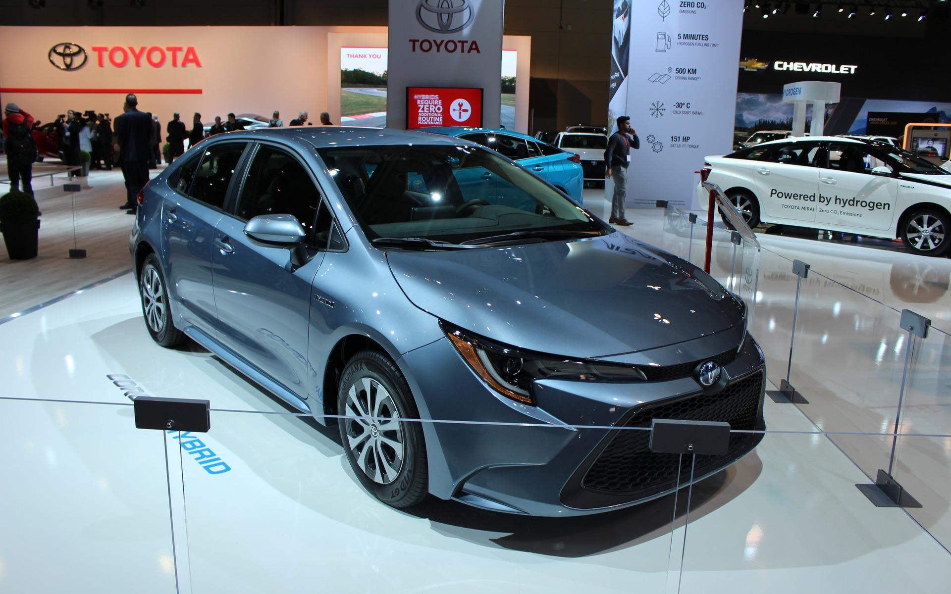 <p>2020 Toyota Corolla hybrid</p>