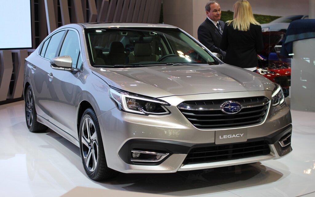 La Subaru Legacy 2020 présentée au Salon de l'auto de ...