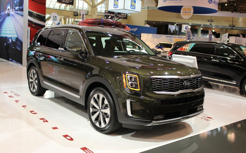 Best Midsize Suv Towing >> 2020 Kia Telluride Presented at the Toronto Auto Show ...