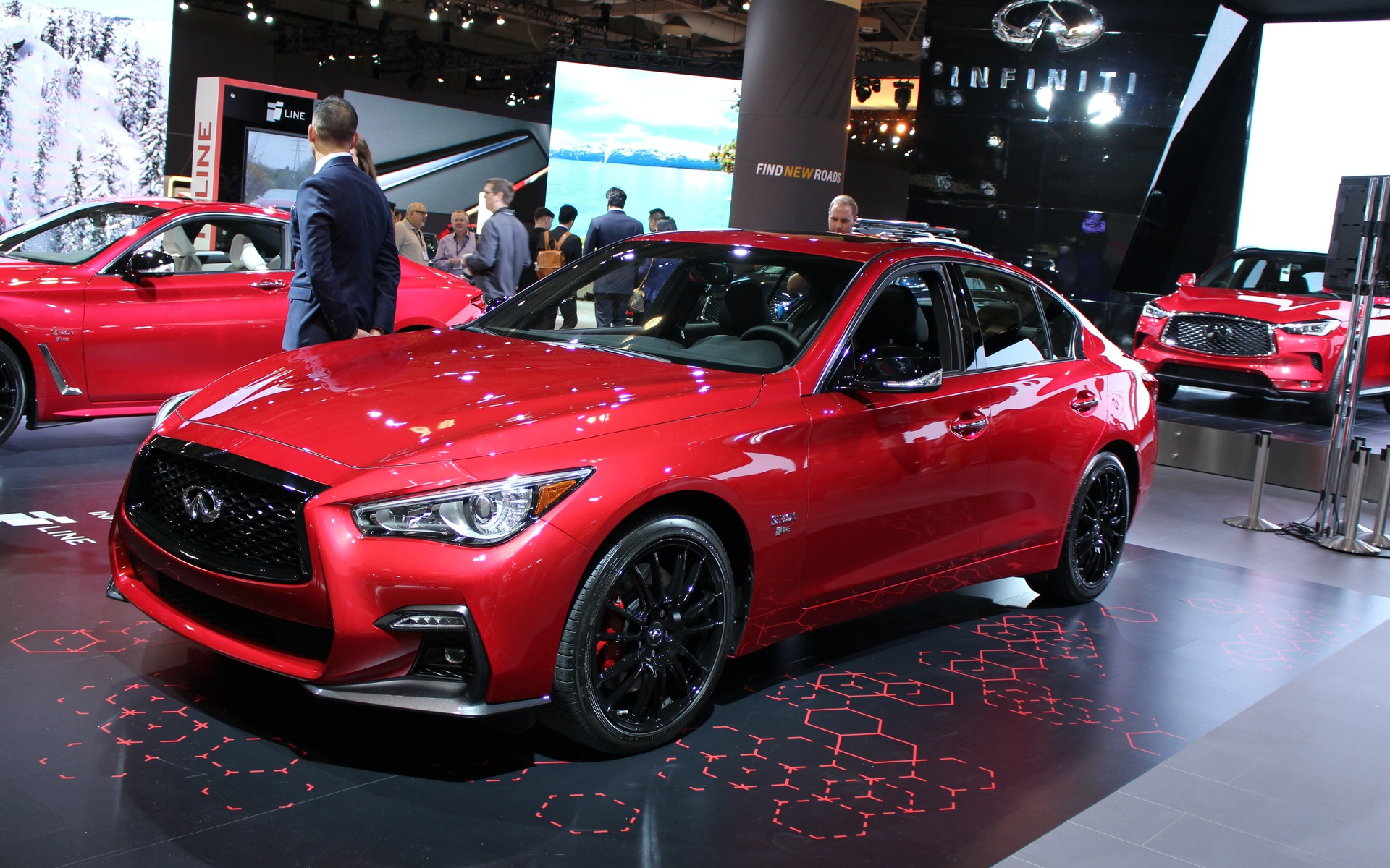 Pre Owned Infiniti Q50 >> Infiniti's New Q50 I-LINE and Q60 I-LINE on Display in ...