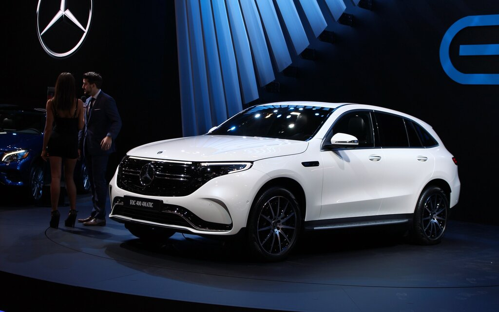 Pre Owned Tesla >> Mercedes-Benz Unveils the Fully Electric EQC in Toronto ...