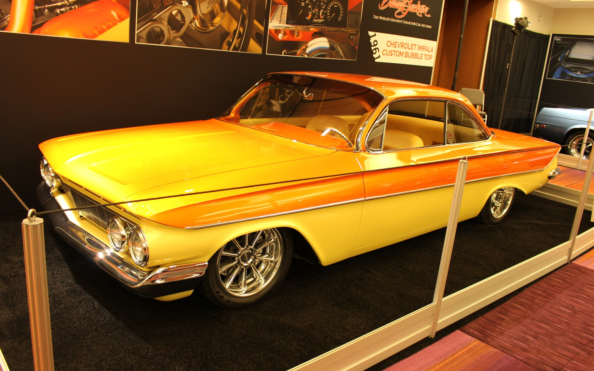 <p>1961 Chevrolet Impala Boyd Coddington Custom Bubble Top</p>
