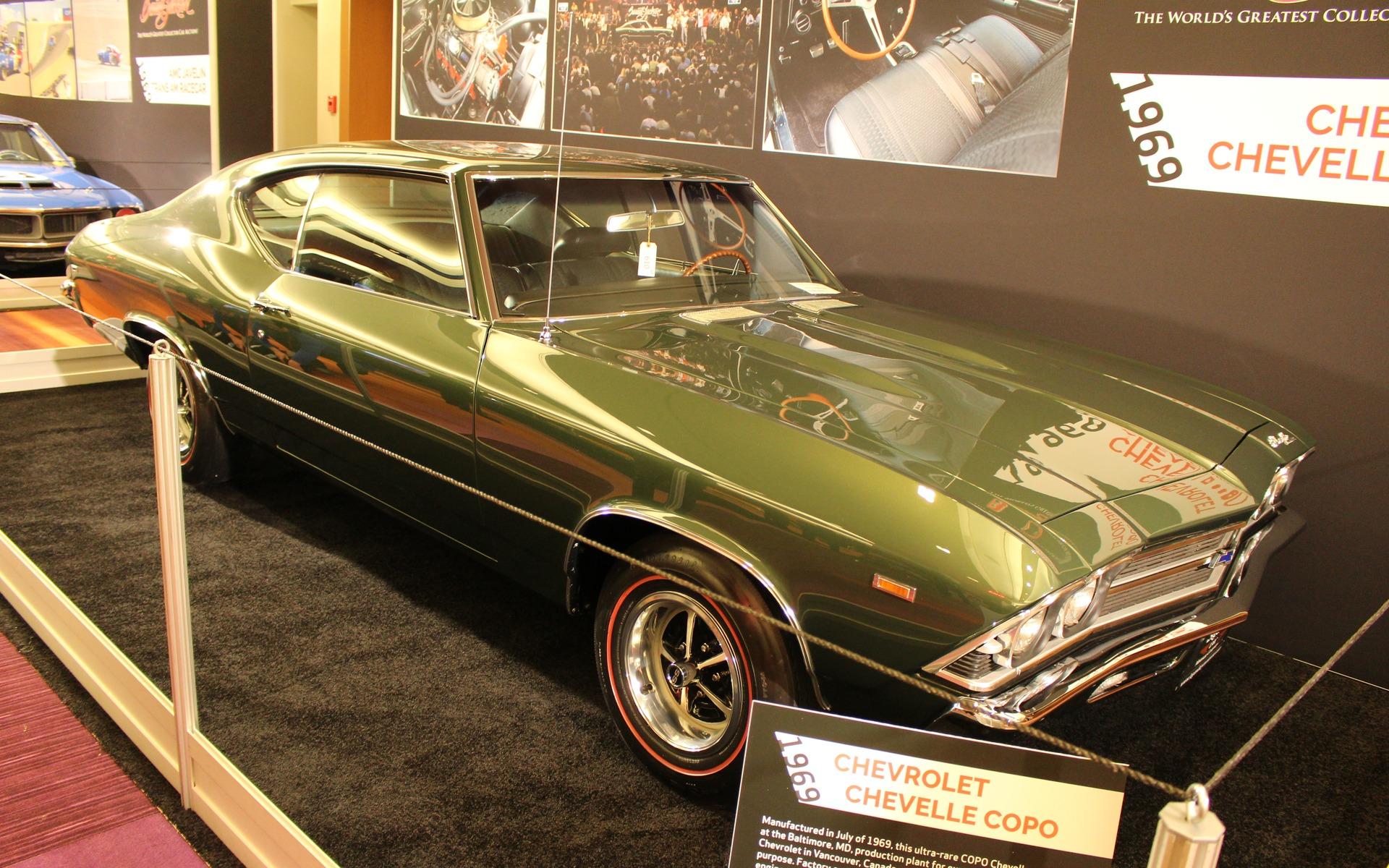 <p>1969 Chevrolet Chevelle COPO</p>