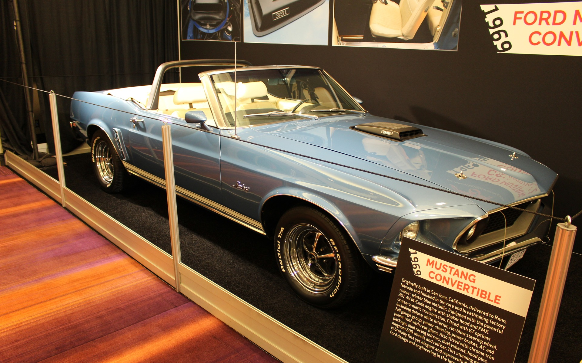 <p>1969 Ford Mustang Convertible</p>