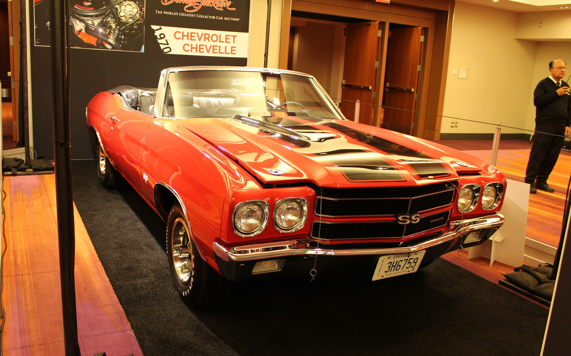 <p>1970 Chevrolet Chevelle SS Convertible</p>