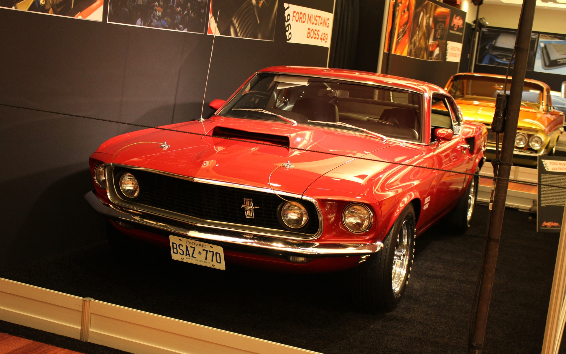 <p>1969 Ford Mustang Boss 429</p>