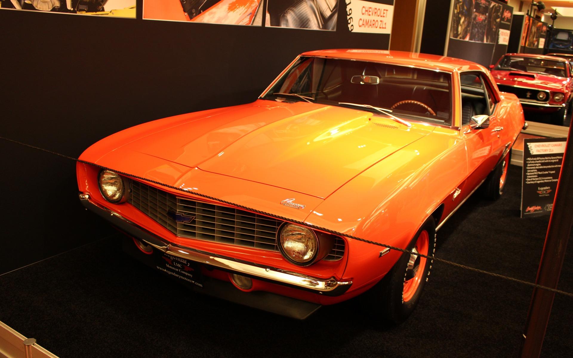 <p>1969 Chevrolet Camaro ZL1</p>