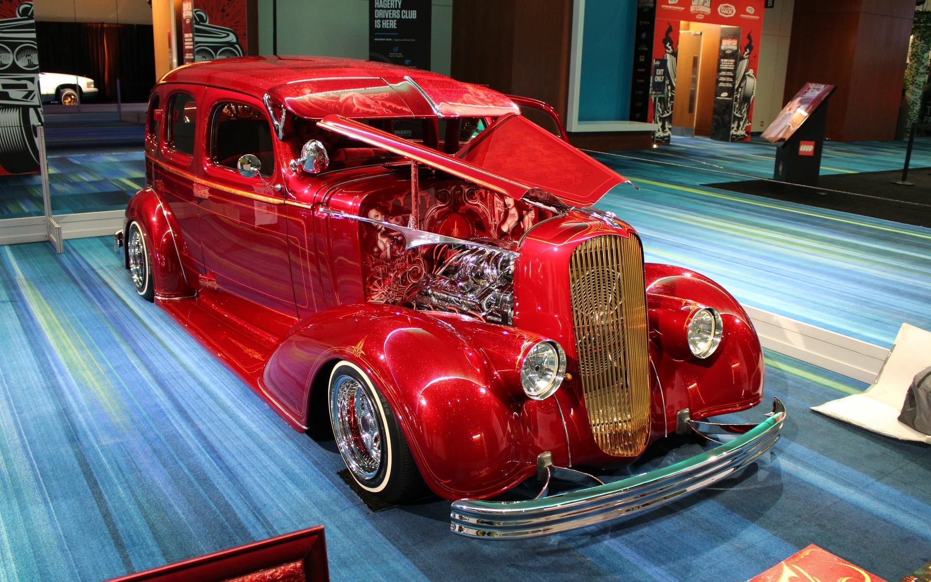 <p>1936 Chevrolet Master Deluxe - El Padrote</p>