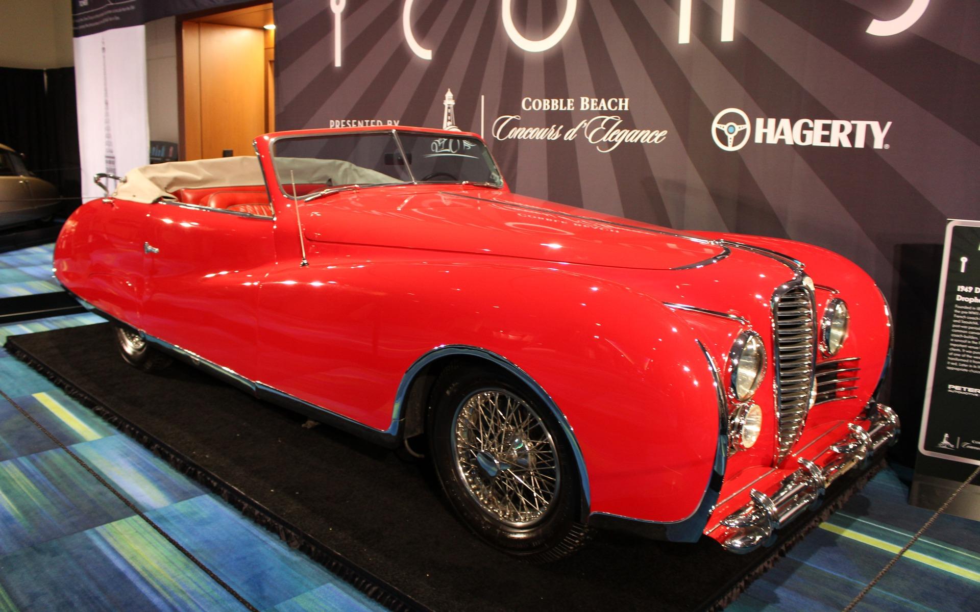 <p>1949 Delahaye Type 175 Drophead Coupe</p>