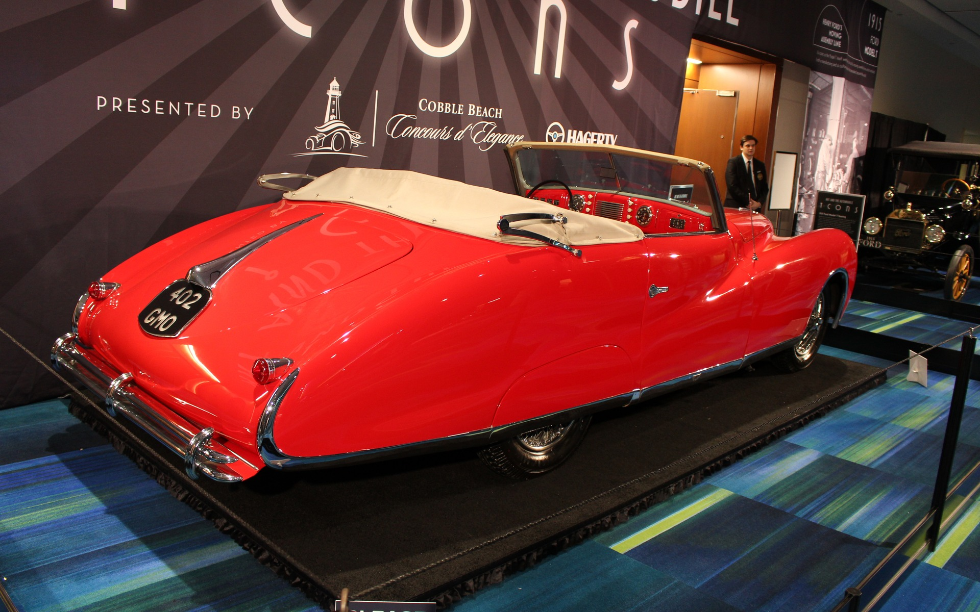 <p>1949 Delahaye Type 175 Drophead Coupe</p>