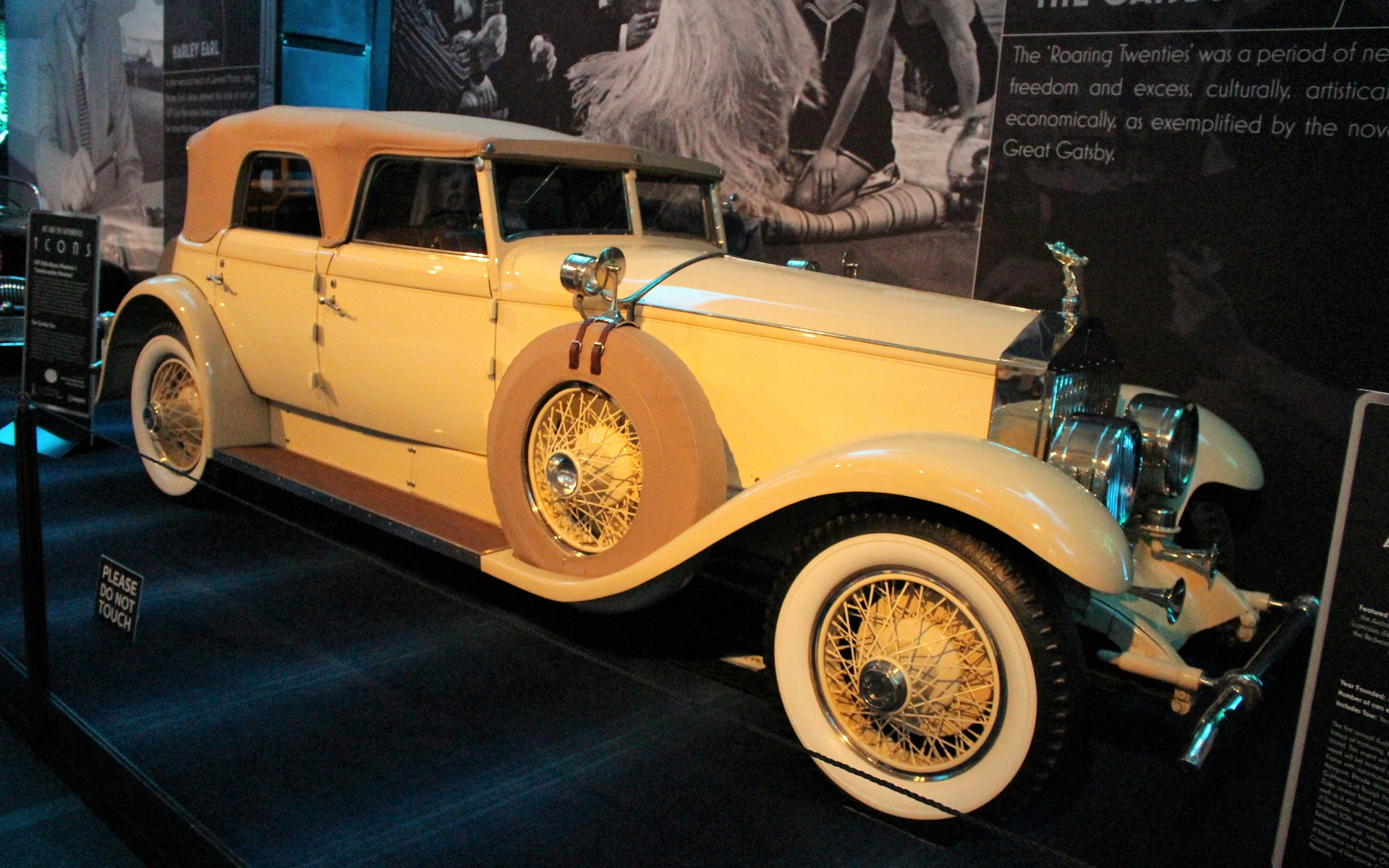 <p>1929 Rolls-Royce Phantom I</p>