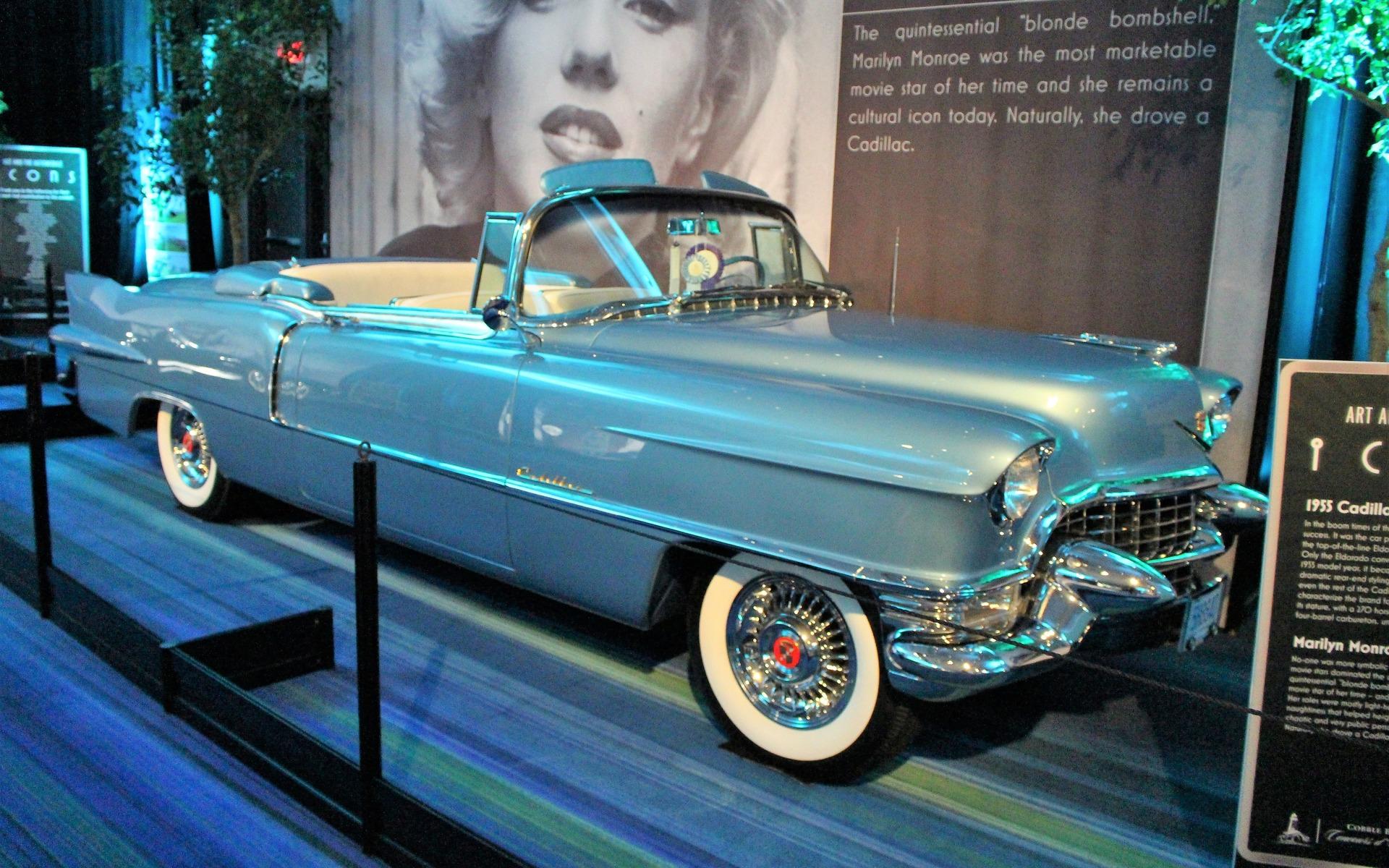 <p>1955 Cadillac Eldorado Biarritz</p>