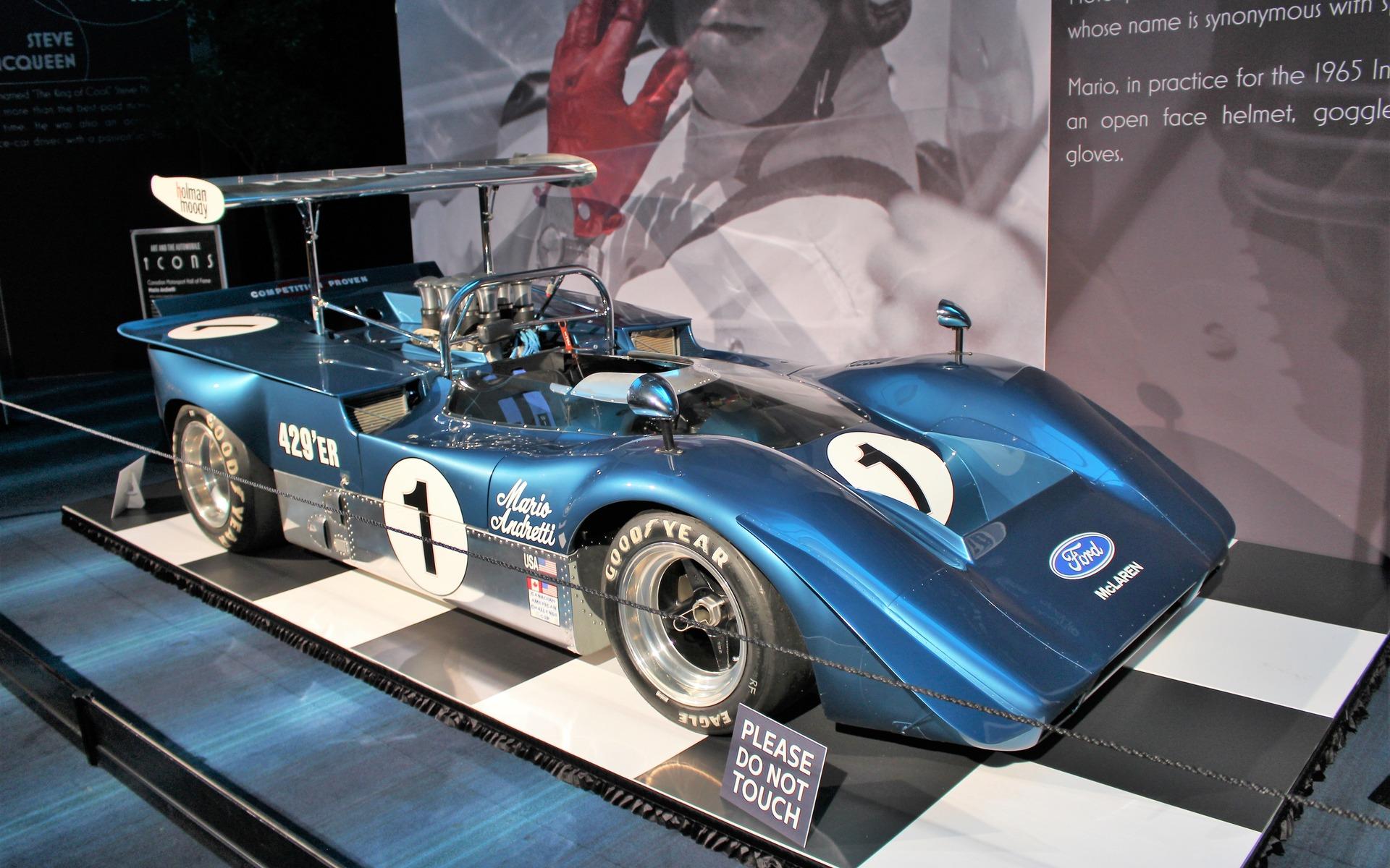 <p>1969 McLaren M6B</p>
