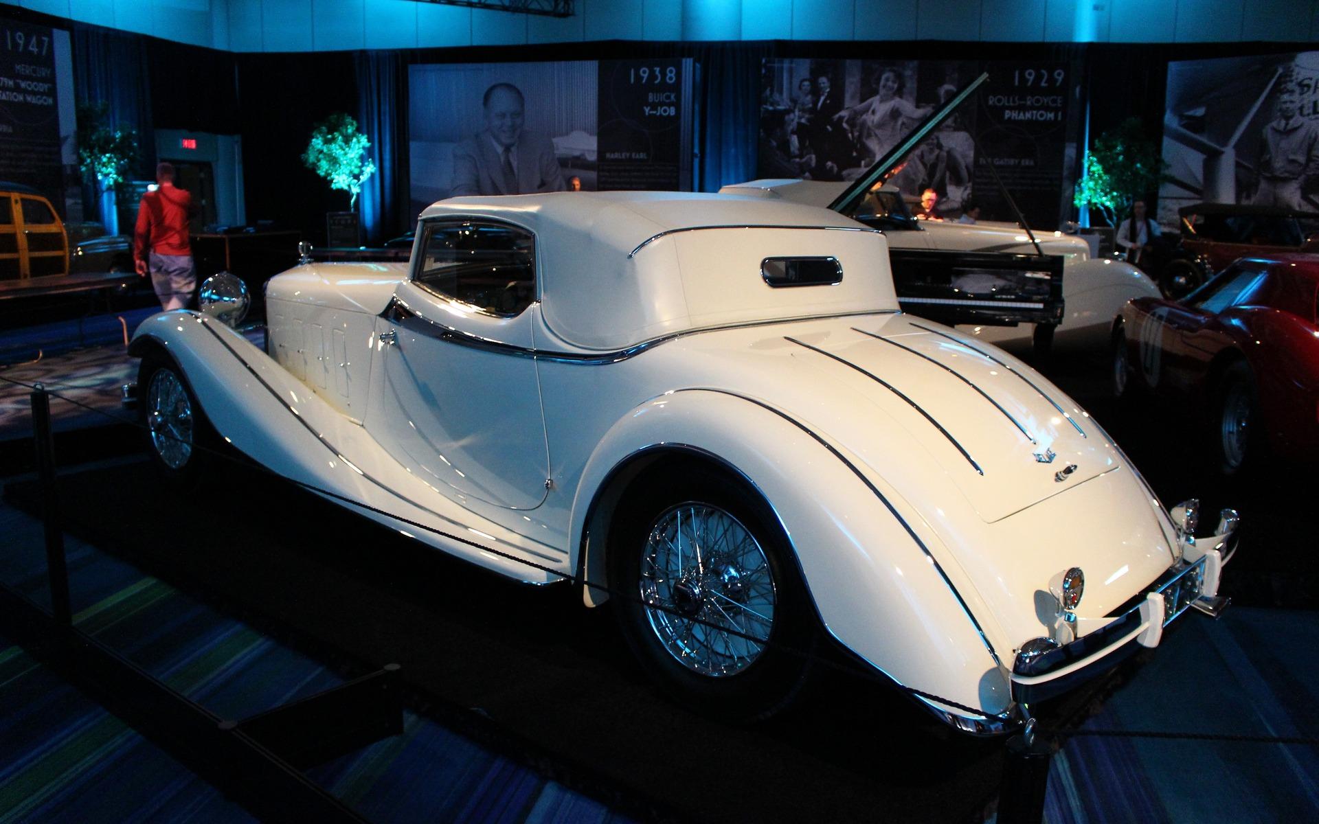 <p>1933 Delage D8S Roadster with Coachwork by De Villars</p>