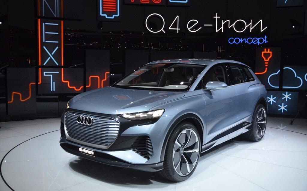 Pre Owned Audi >> 2019 Geneva Auto Show: World Premiere of Audi Q4 e-tron ...