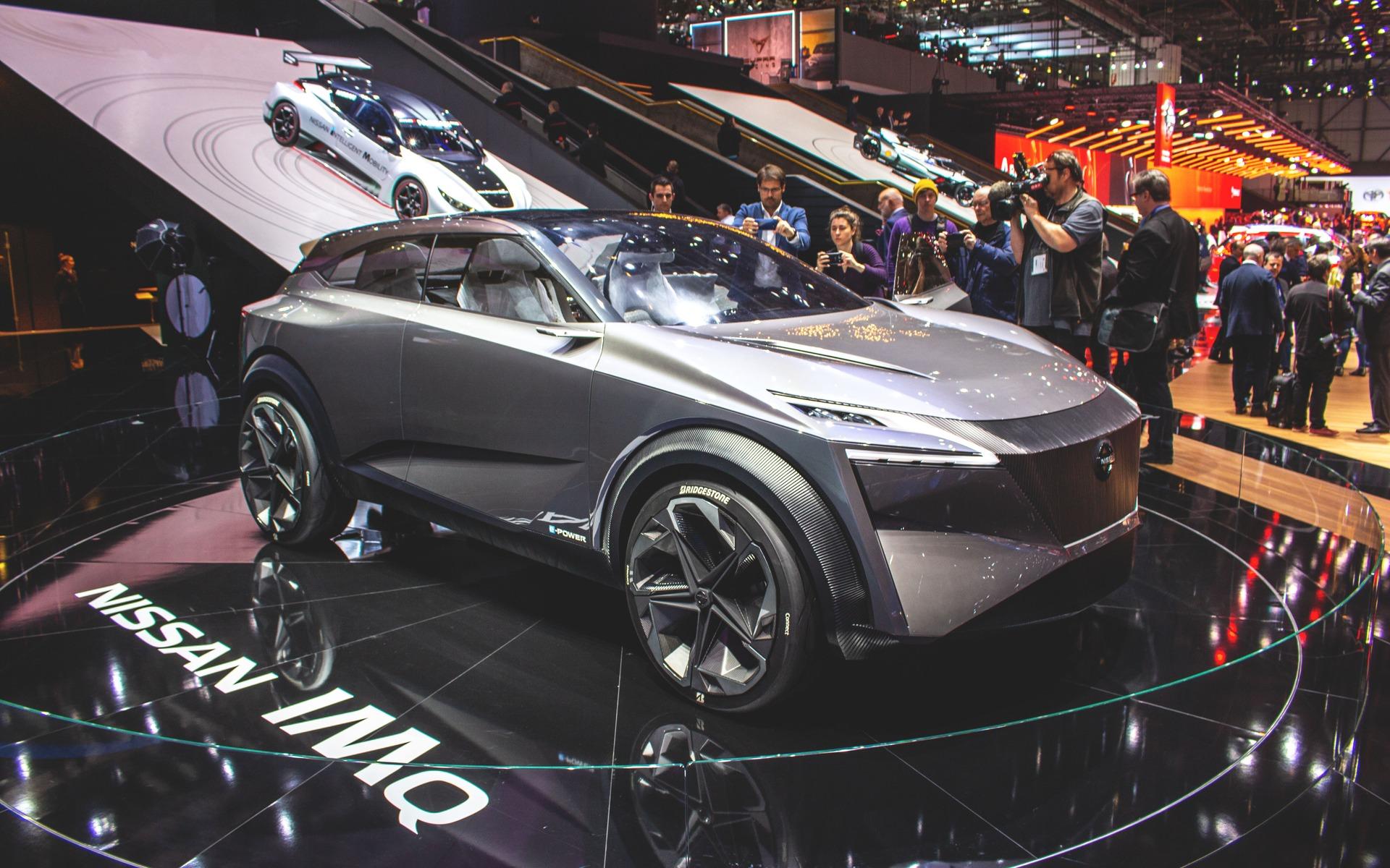Nissan Imq Concept Previews Future Smart Suvs The Car Guide