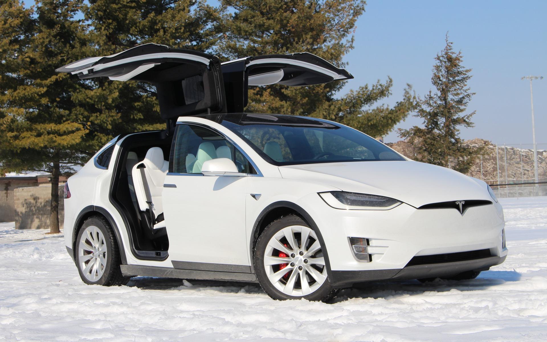 <p>Tesla Model X</p>