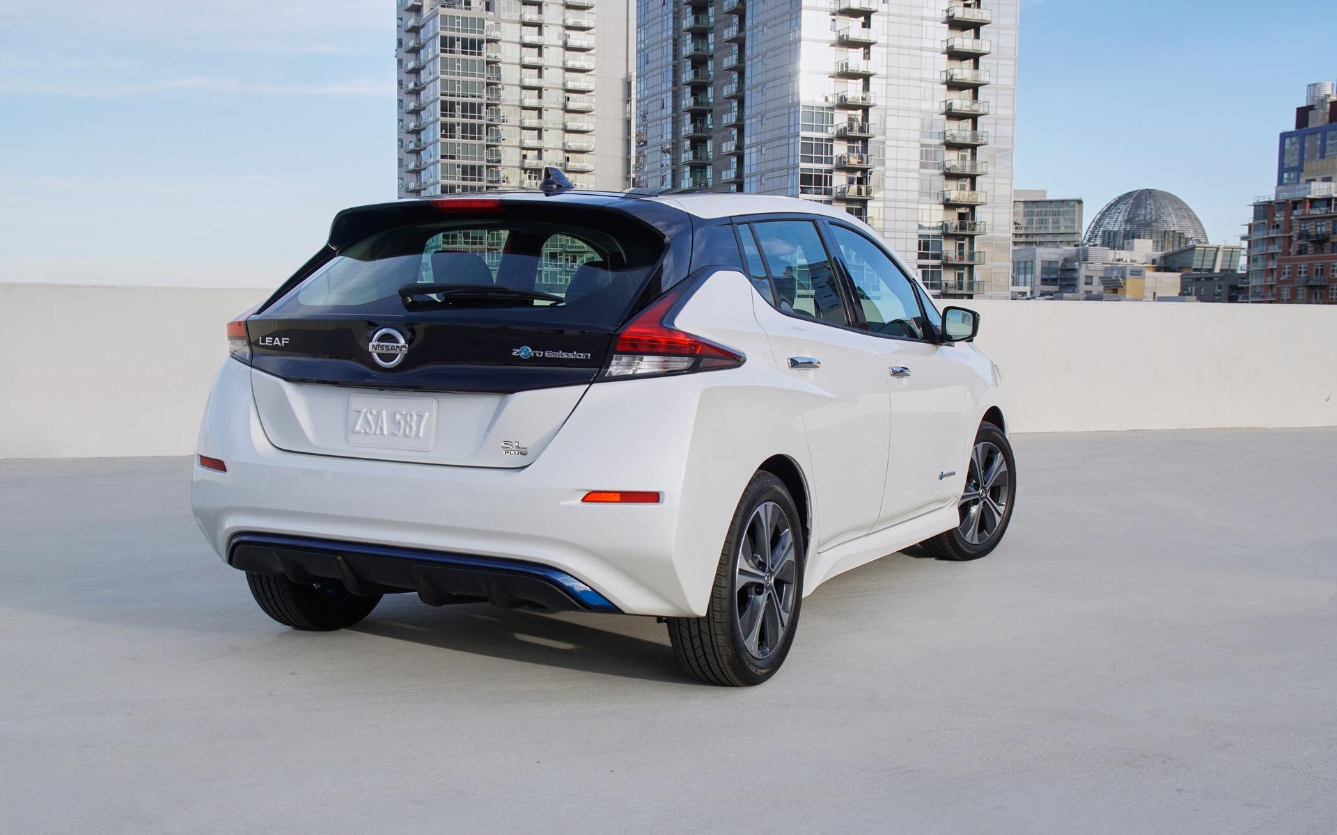 <p>Nissan LEAF PLUS</p>
