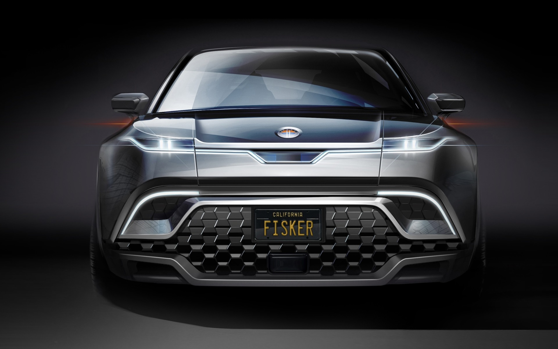 Preview of the future Fisker electric SUV