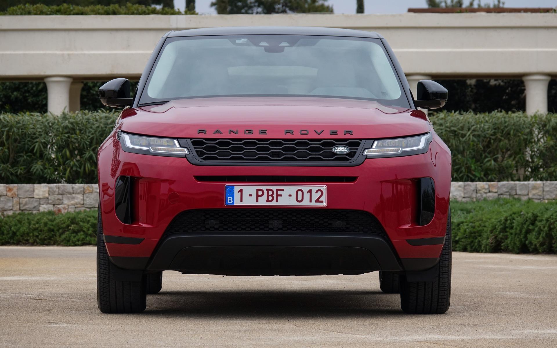 <p>Range Rover Evoque 2020</p>