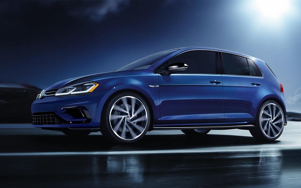 <p>Volkswagen Golf R</p>