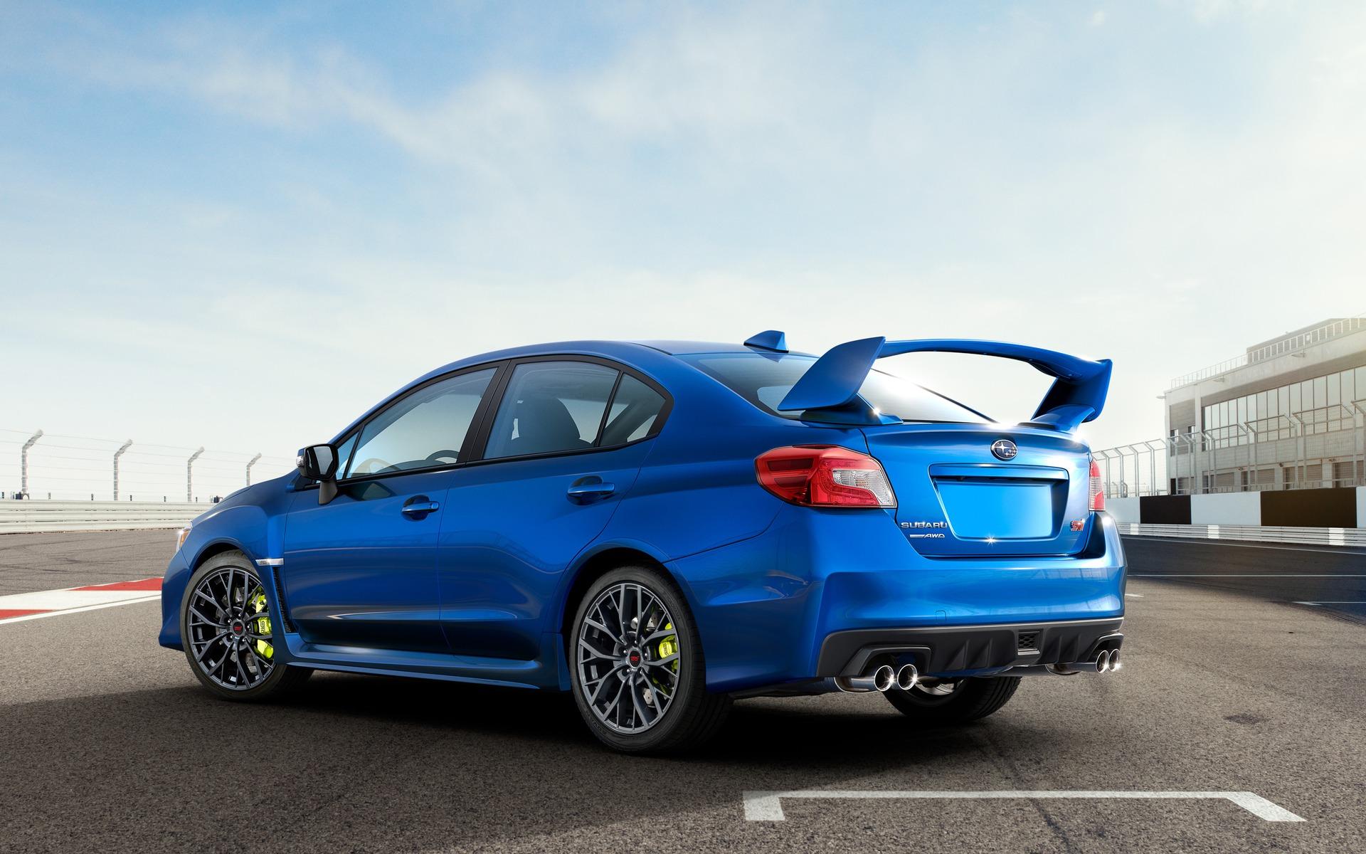 <p>Subaru WRX STI</p>