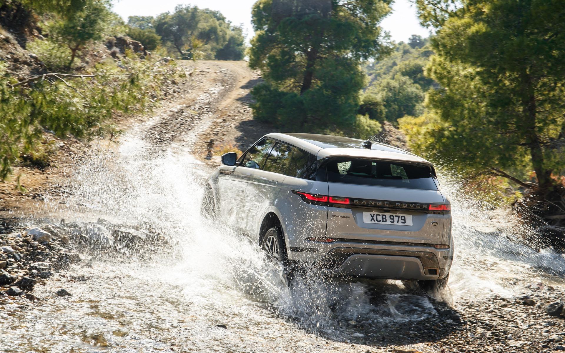 <p>Le nouveau Range Rover Evoque dans son autre élément</p>