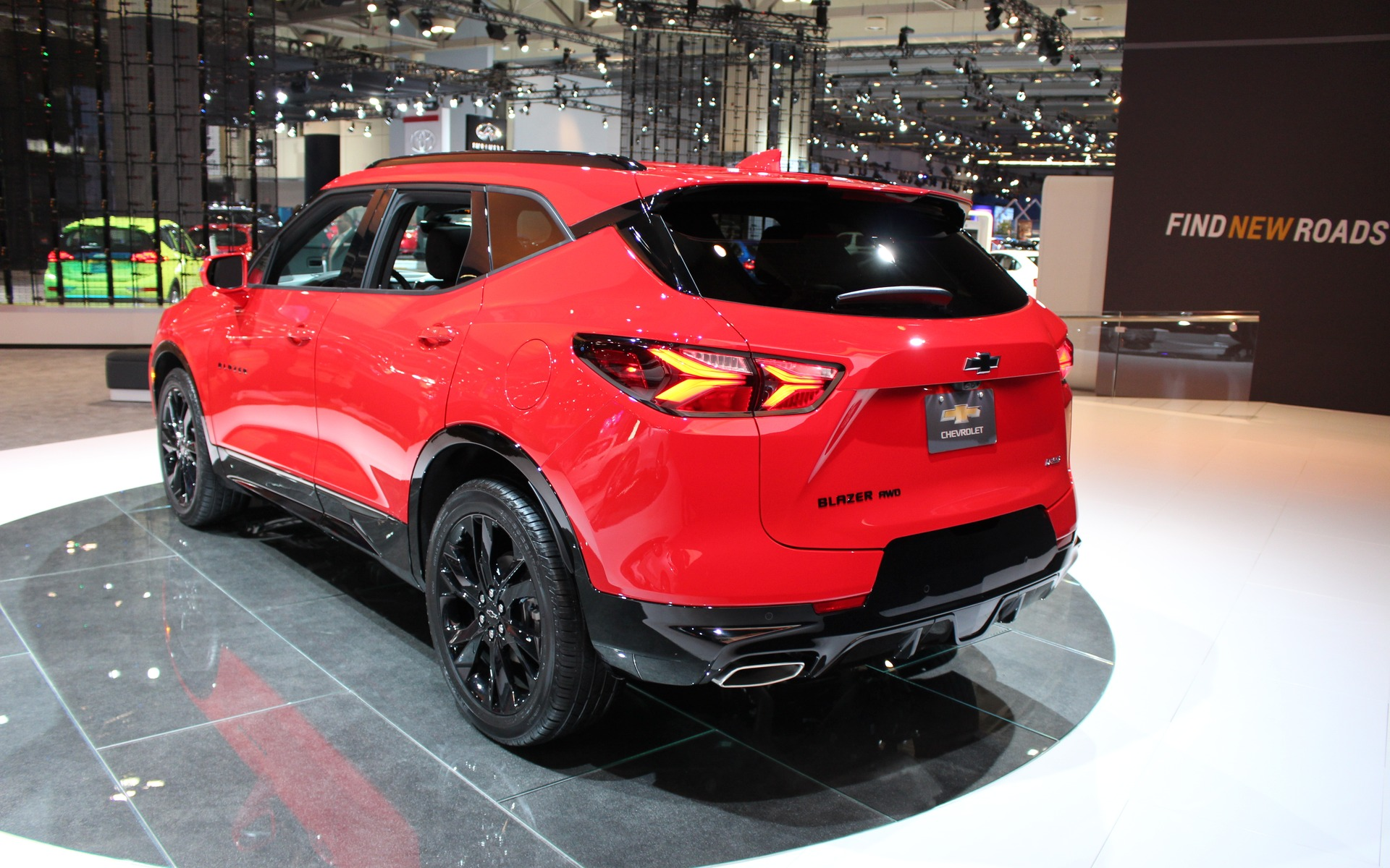 <p>Chevrolet Blazer RS 2019</p>