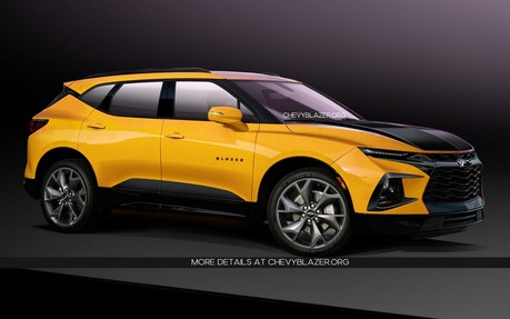 New Chevy Blazer >> Chevrolet Blazer Ss Possibly Coming With 404 Hp The Car Guide