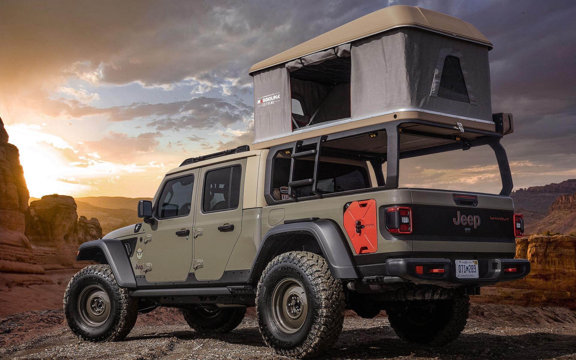 <p>Jeep Wayout</p>