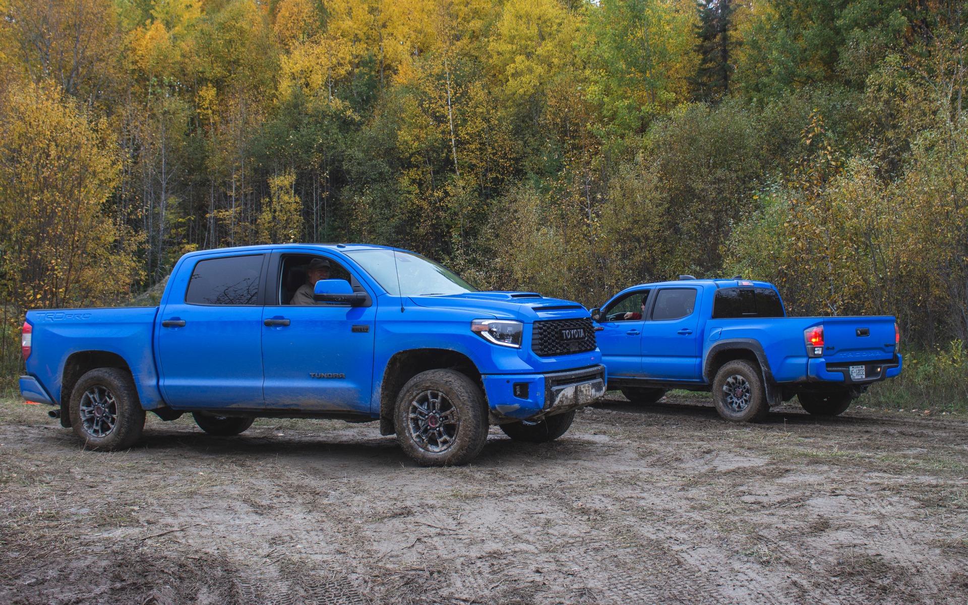 2019 Toyota Tundra and Tacoma TRD Pro