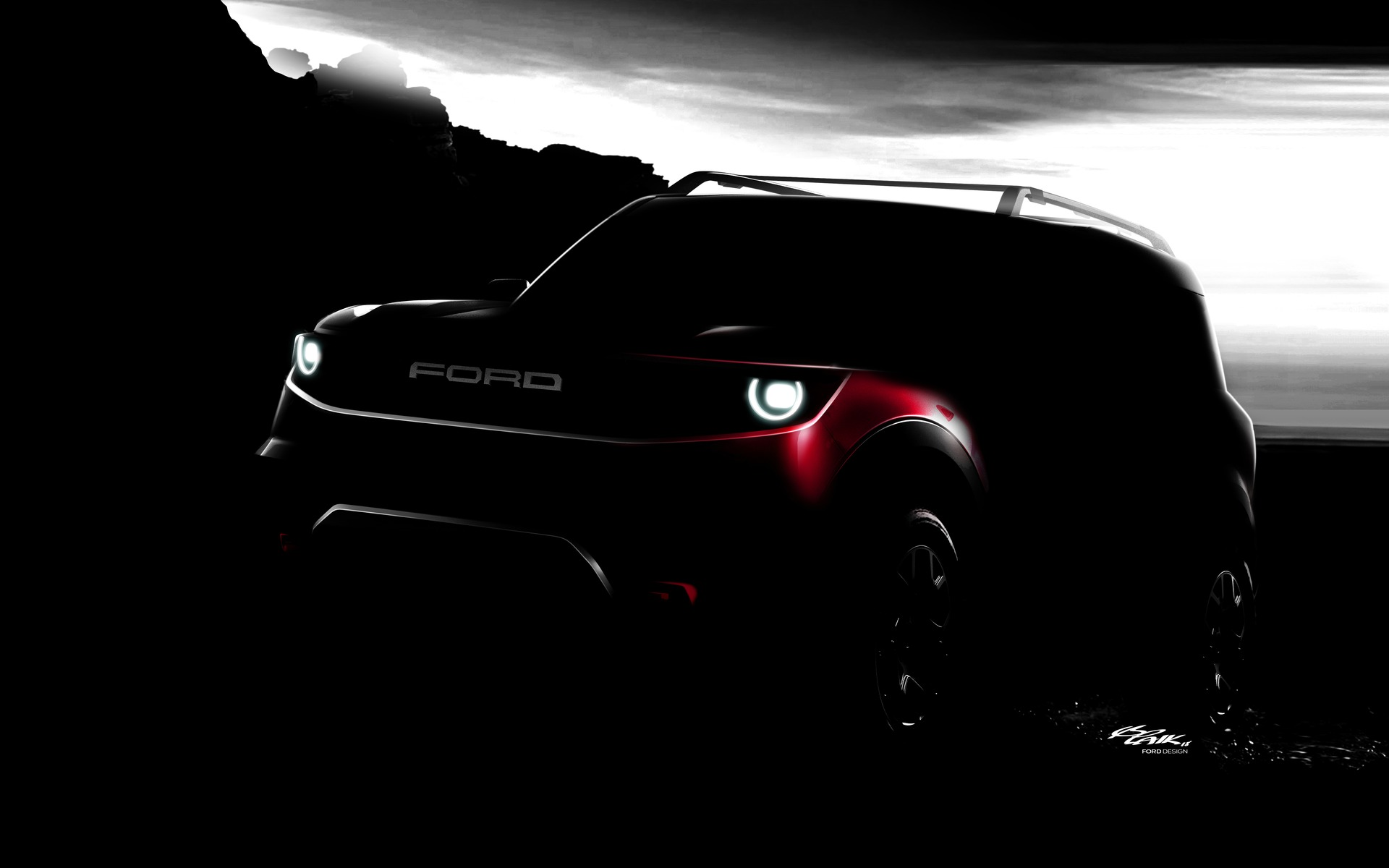 A preview of the upcoming Ford Bronco's little brother