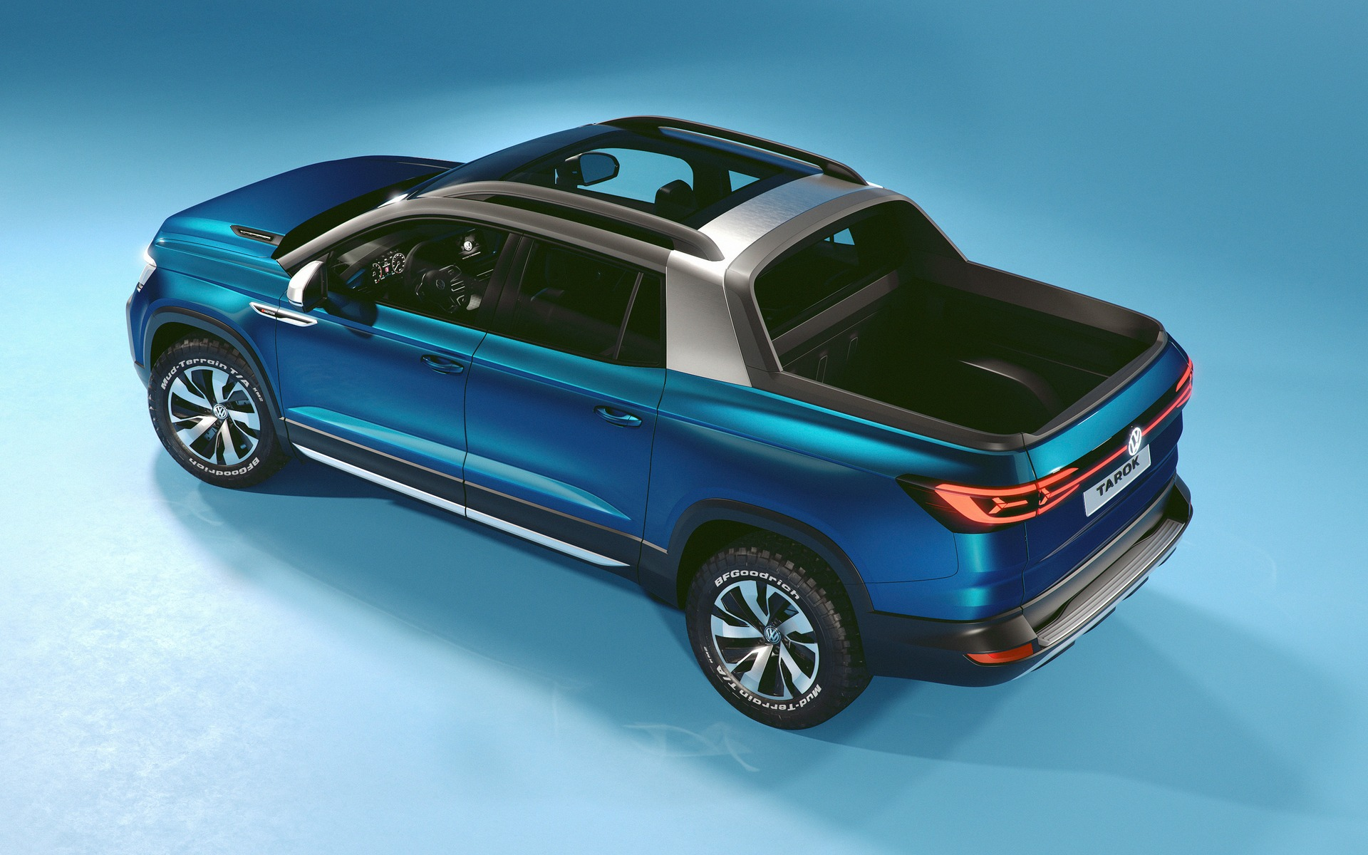 2020 Volkswagen Tarok Price, Redesign, Review, And Specs >> Volkswagen Brings Tarok Pickup Concept To North America The Car Guide