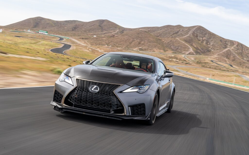 2020 lexus rc f  v8 magic ftw