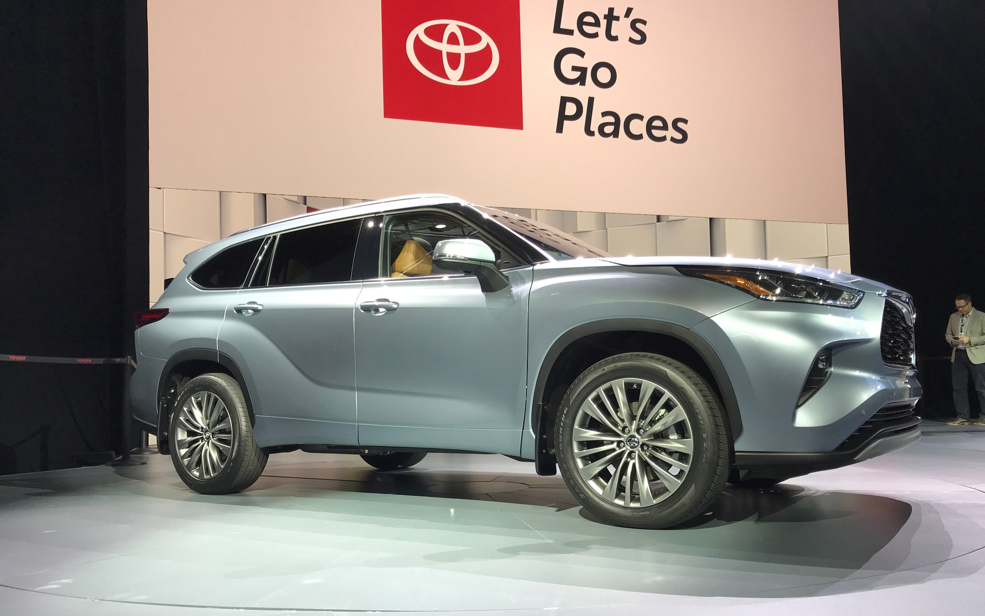Voici le nouveau Toyota Highlander 2020