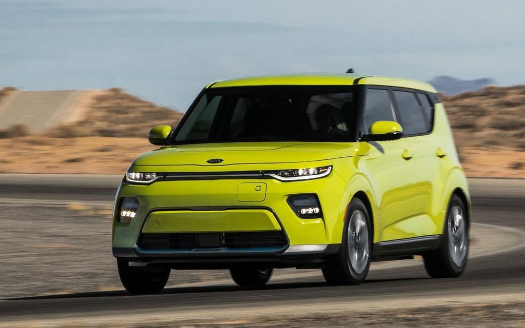 <p>Kia Soul EV 2020</p>