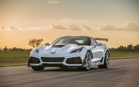 Hennessey Chevrolet Corvette ZR1 Cranked up to 1,000 hp and