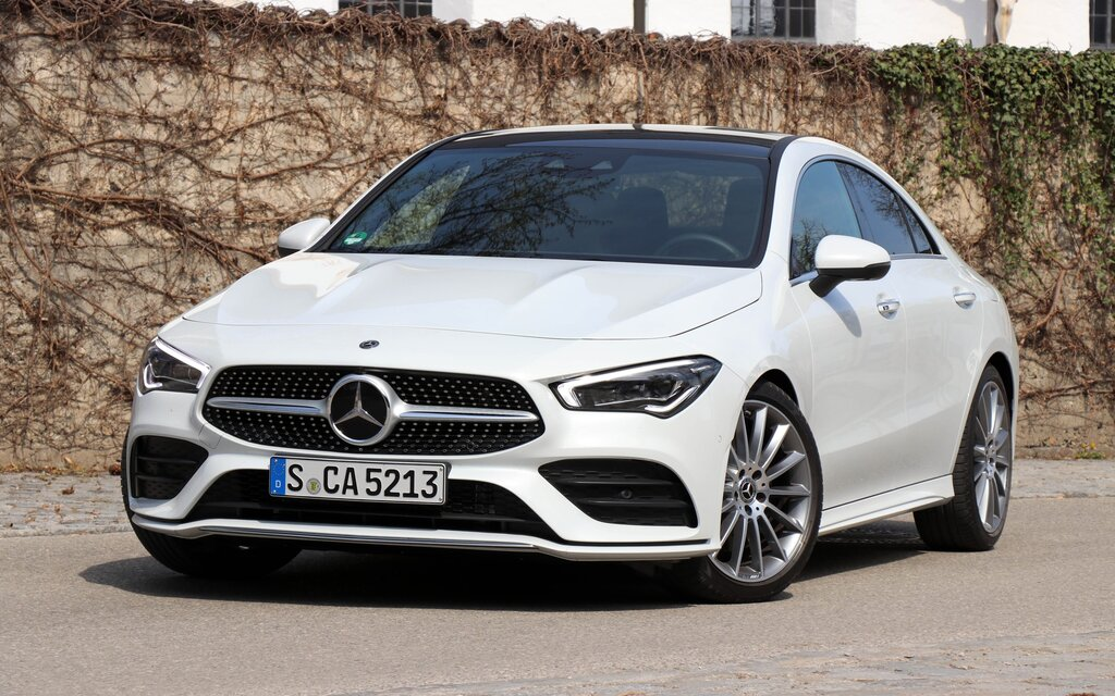 2020 mercedes-benz cla  trying hard to stay relevant