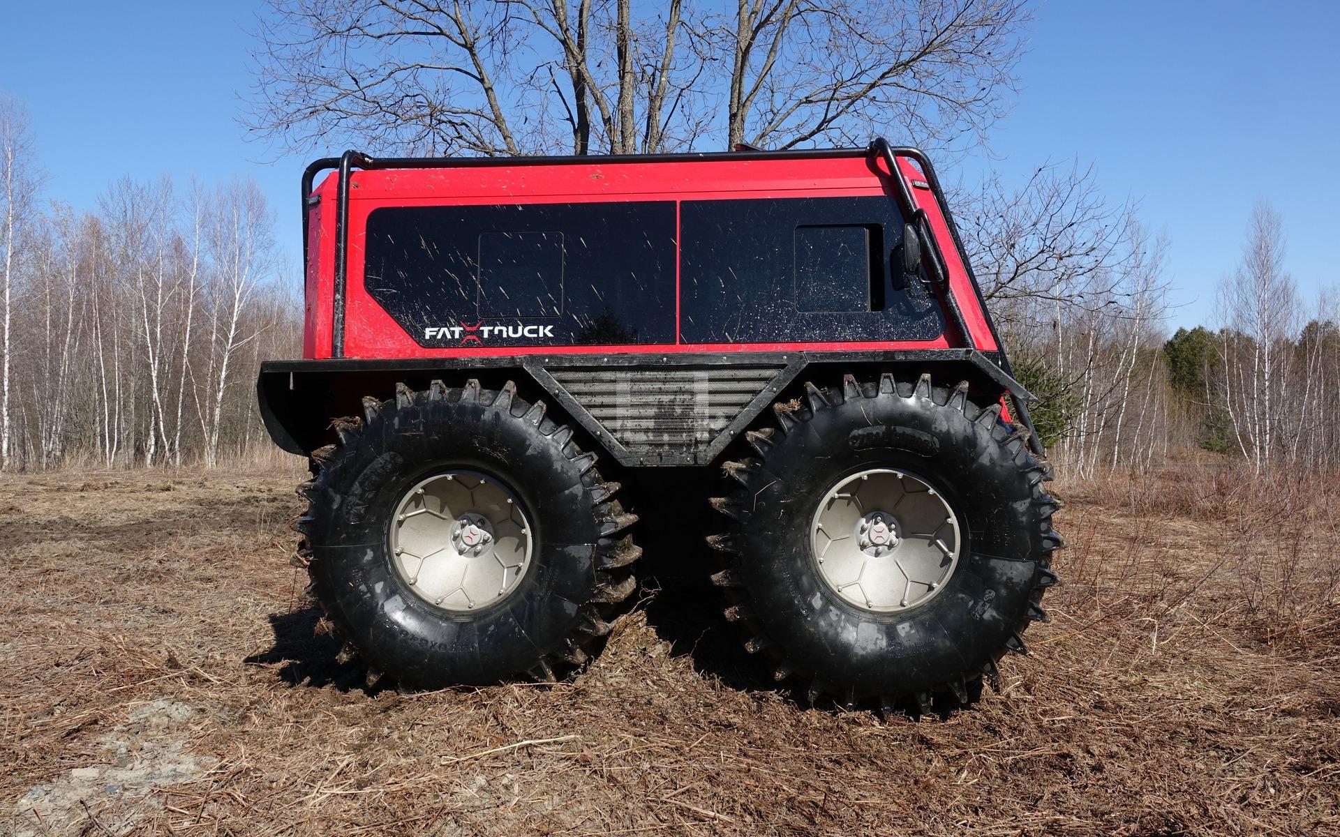 <p>Le Fat Truck dans un de ses &eacute;l&eacute;ments</p>