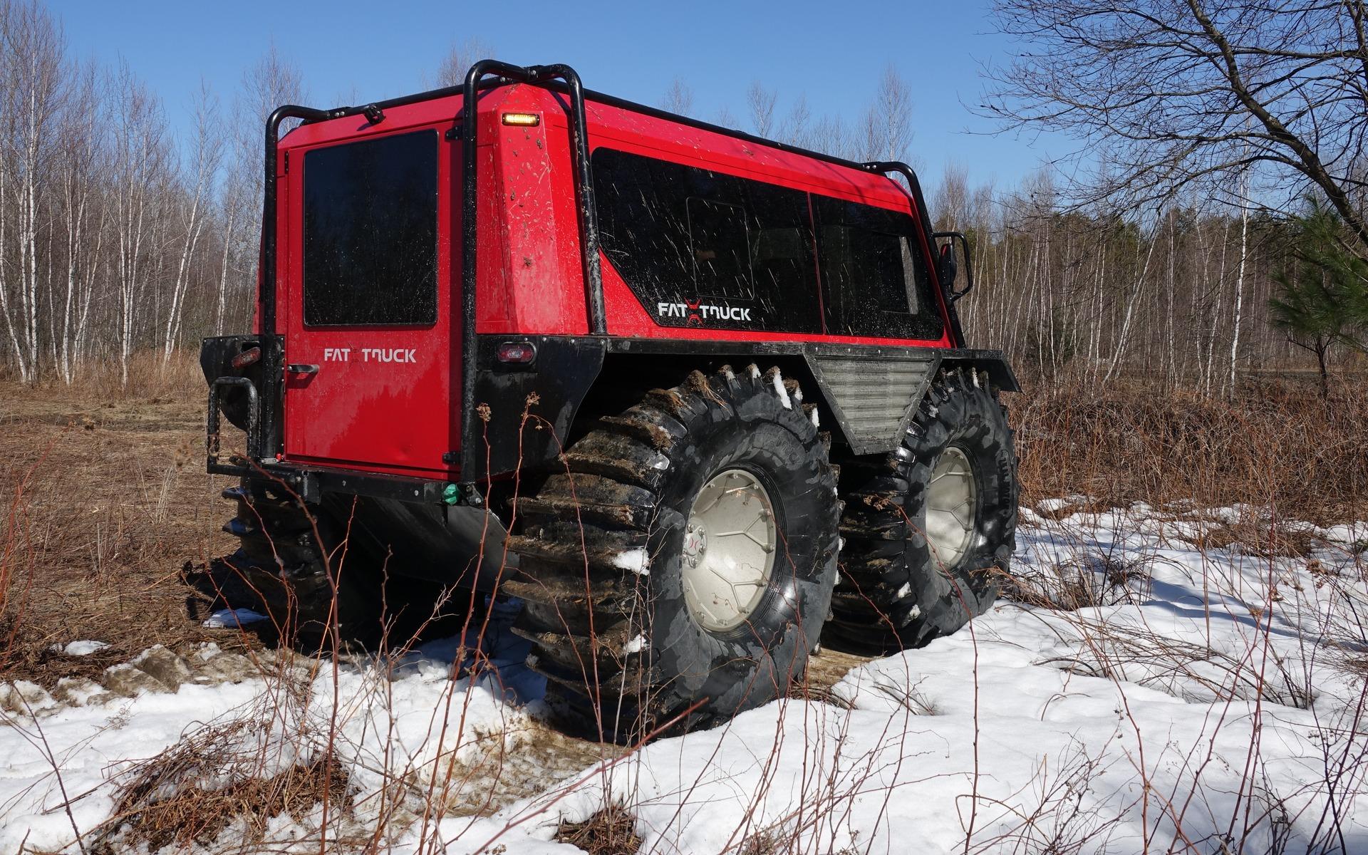 <p>La tout premier Fat Truck de Zeal Motor</p>